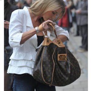 Authentic Louis Vuitton galliera pm hobo